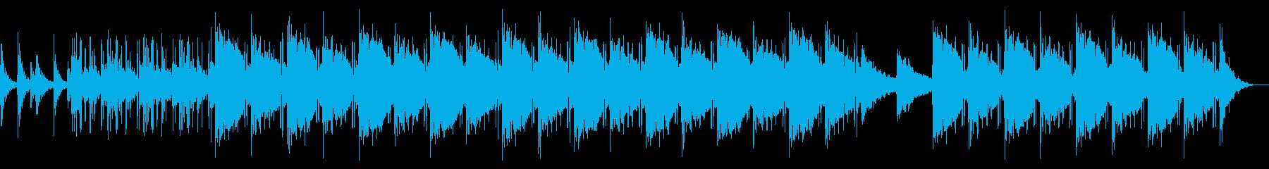 おしゃれでシンプルなローファイビートの再生済みの波形
