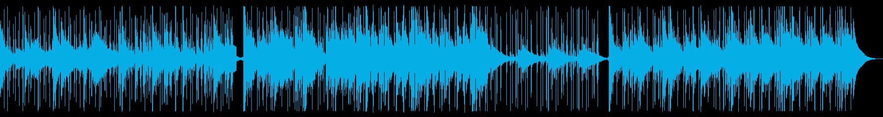 冬を感じるチルBGMの再生済みの波形