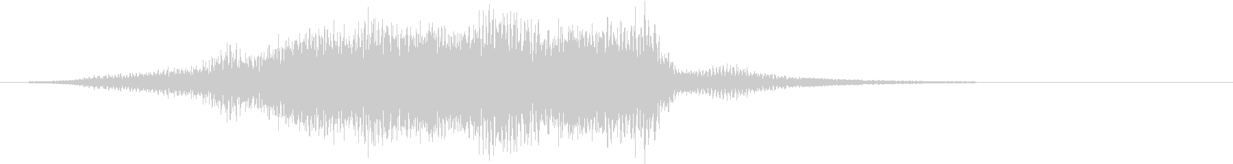 タイトルSE ver01(穏やかな音)の未再生の波形