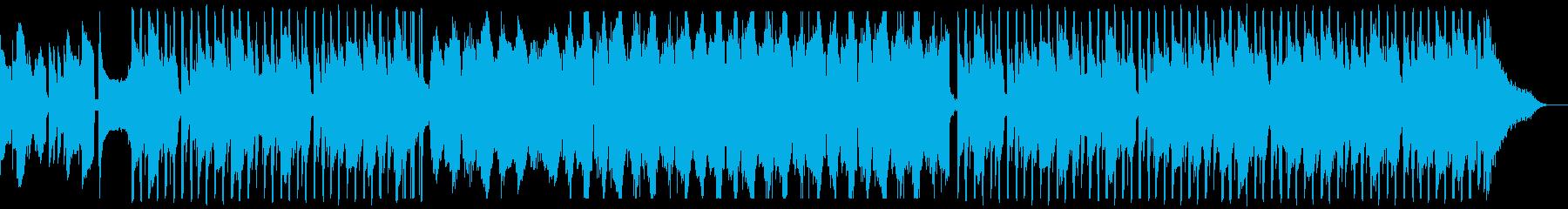 癒しのベースソロの再生済みの波形