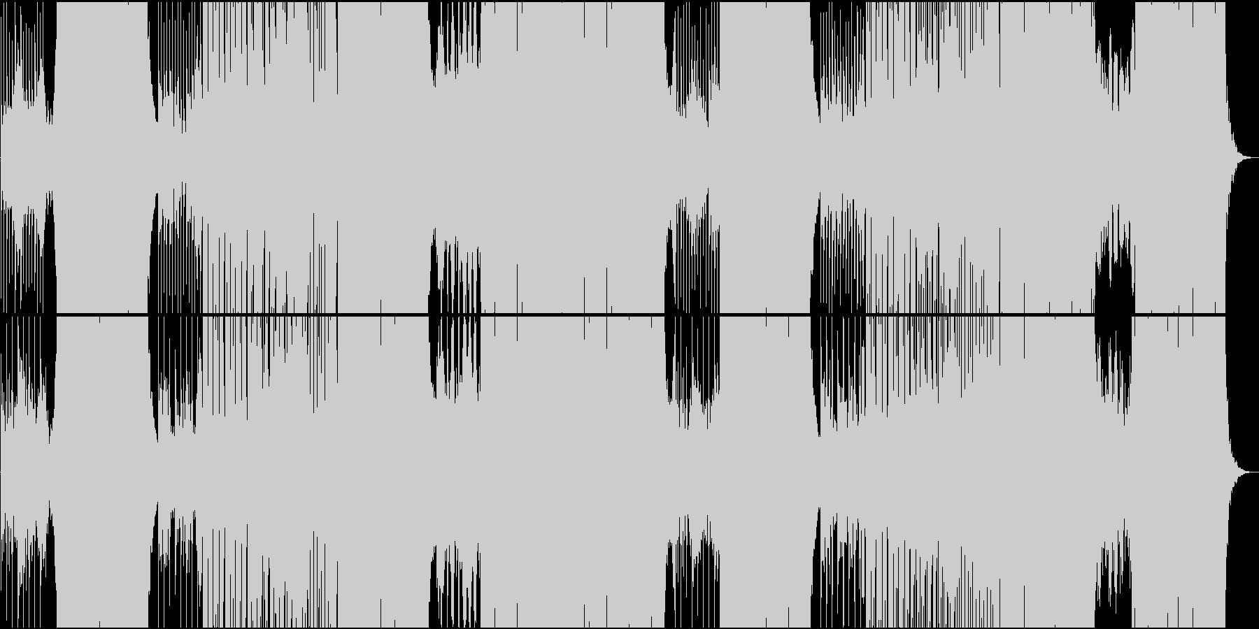 ほのぼのカワイイFutur Popの未再生の波形