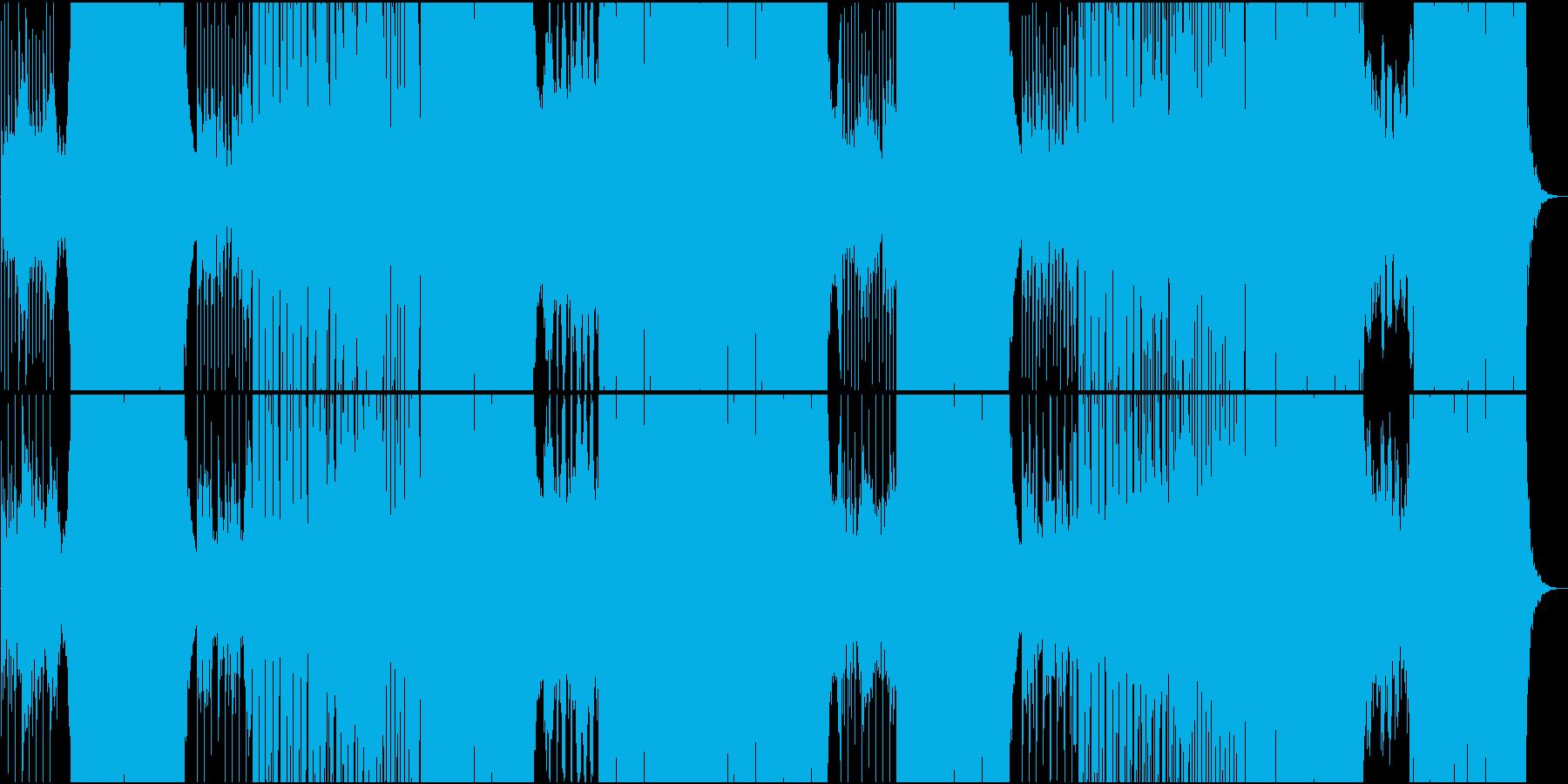 ほのぼのカワイイFutur Popの再生済みの波形