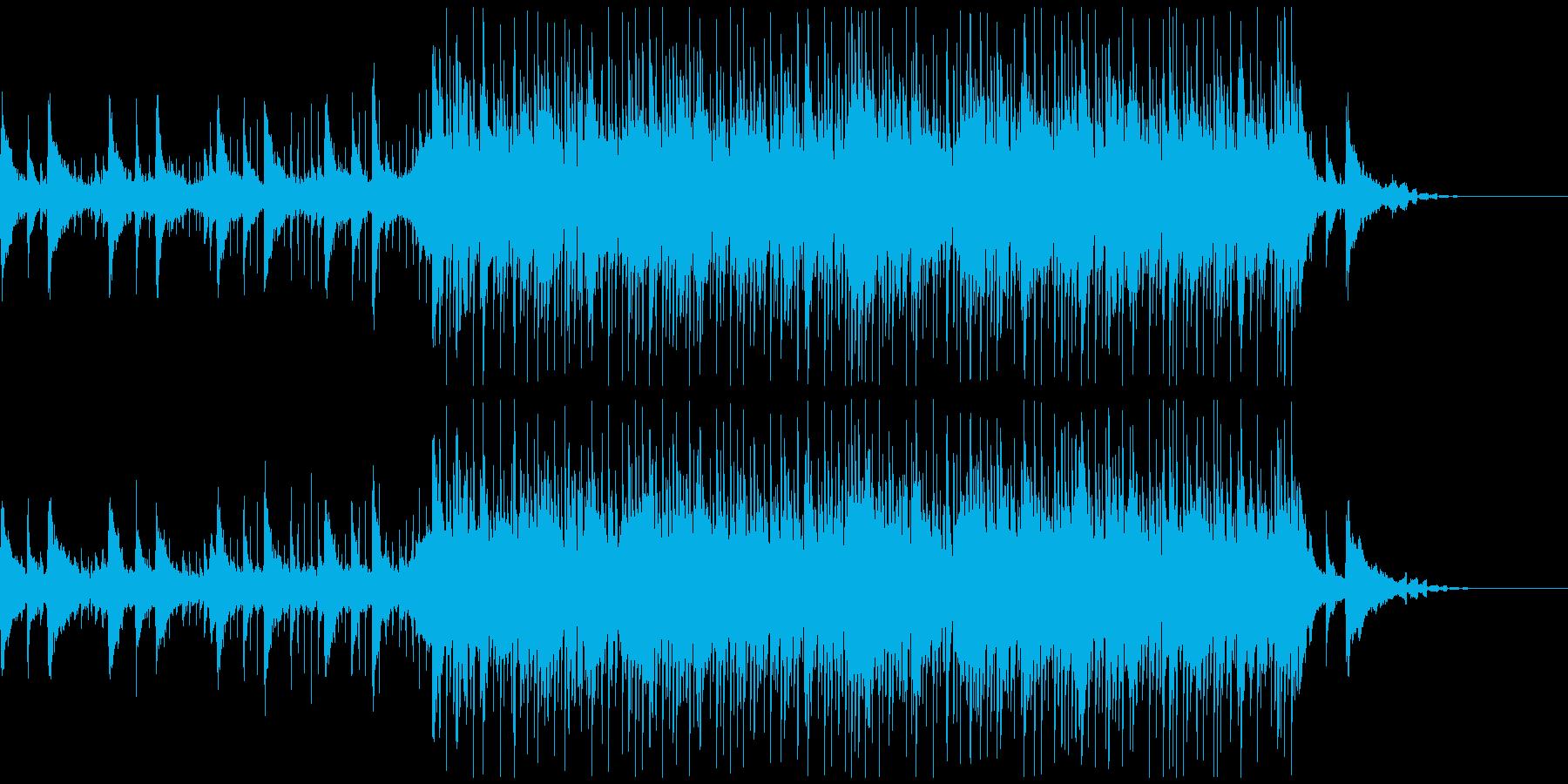 ピアノの切なく綺麗なメロディと詞の朗読の再生済みの波形