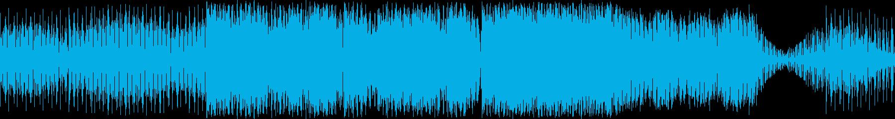 テレビゲーム アクション 電子打楽...の再生済みの波形