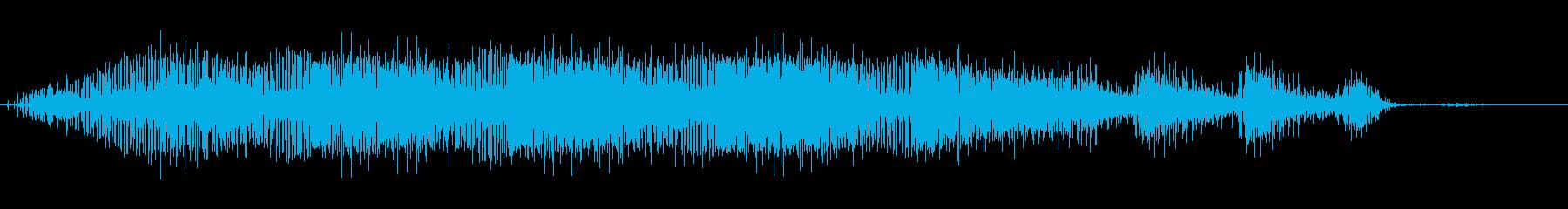 【ホラー/サスペンス系】ノイズ 不安の再生済みの波形