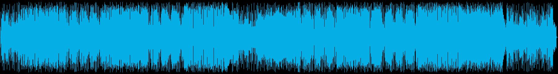 カフェミュージック:ポップの再生済みの波形