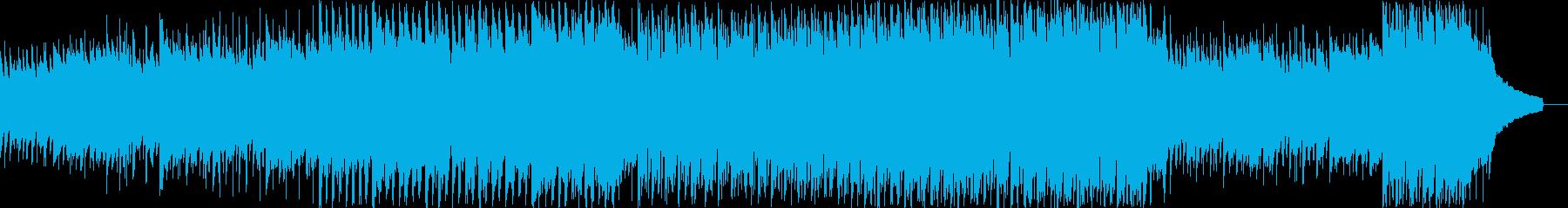 動画 センチメンタル 感情的 ポジ...の再生済みの波形