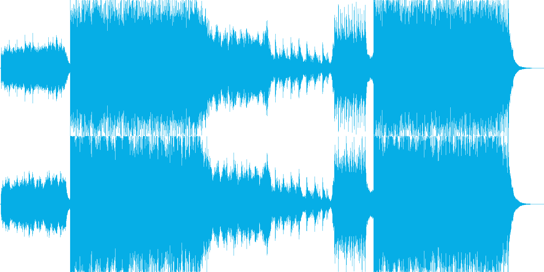 壮大で幻想的な物語-PV-オーケストラの再生済みの波形
