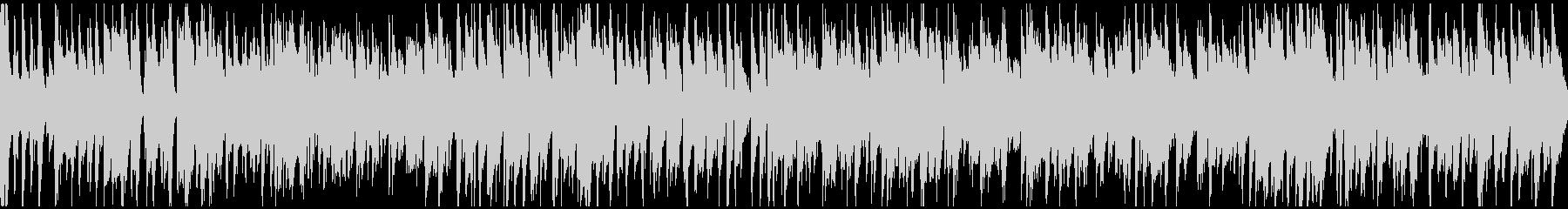 わくわくするライトなジャズ ※ループ版の未再生の波形