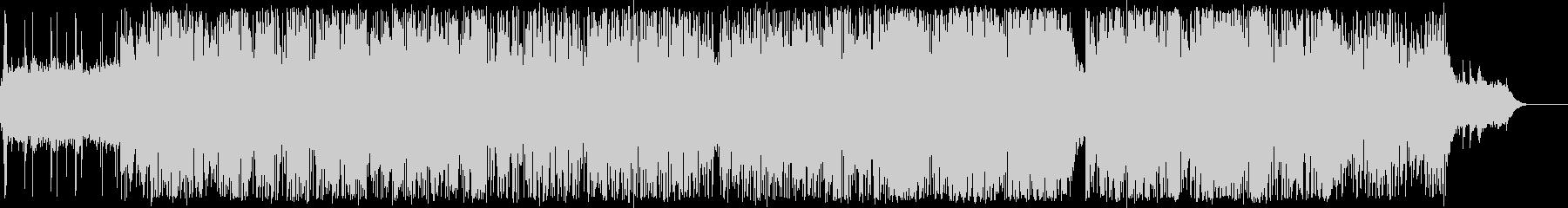 スペイシーなジャズ/ドラムンベースの未再生の波形