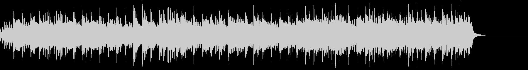 バンジョーによる軽快なフォークソングの未再生の波形