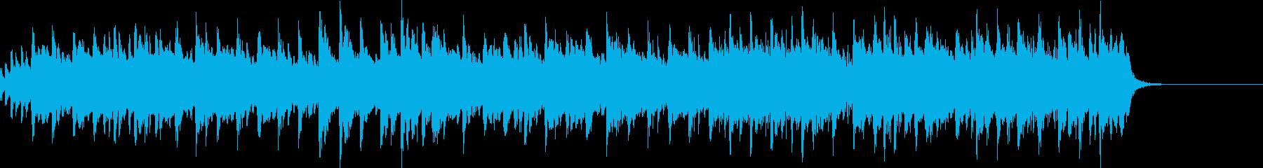 バンジョーによる軽快なフォークソングの再生済みの波形