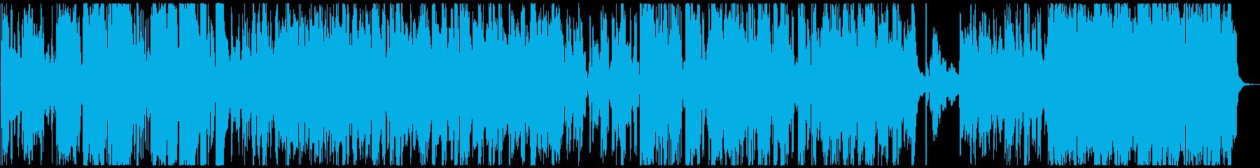フュージョン ジャズ ラウンジ ま...の再生済みの波形