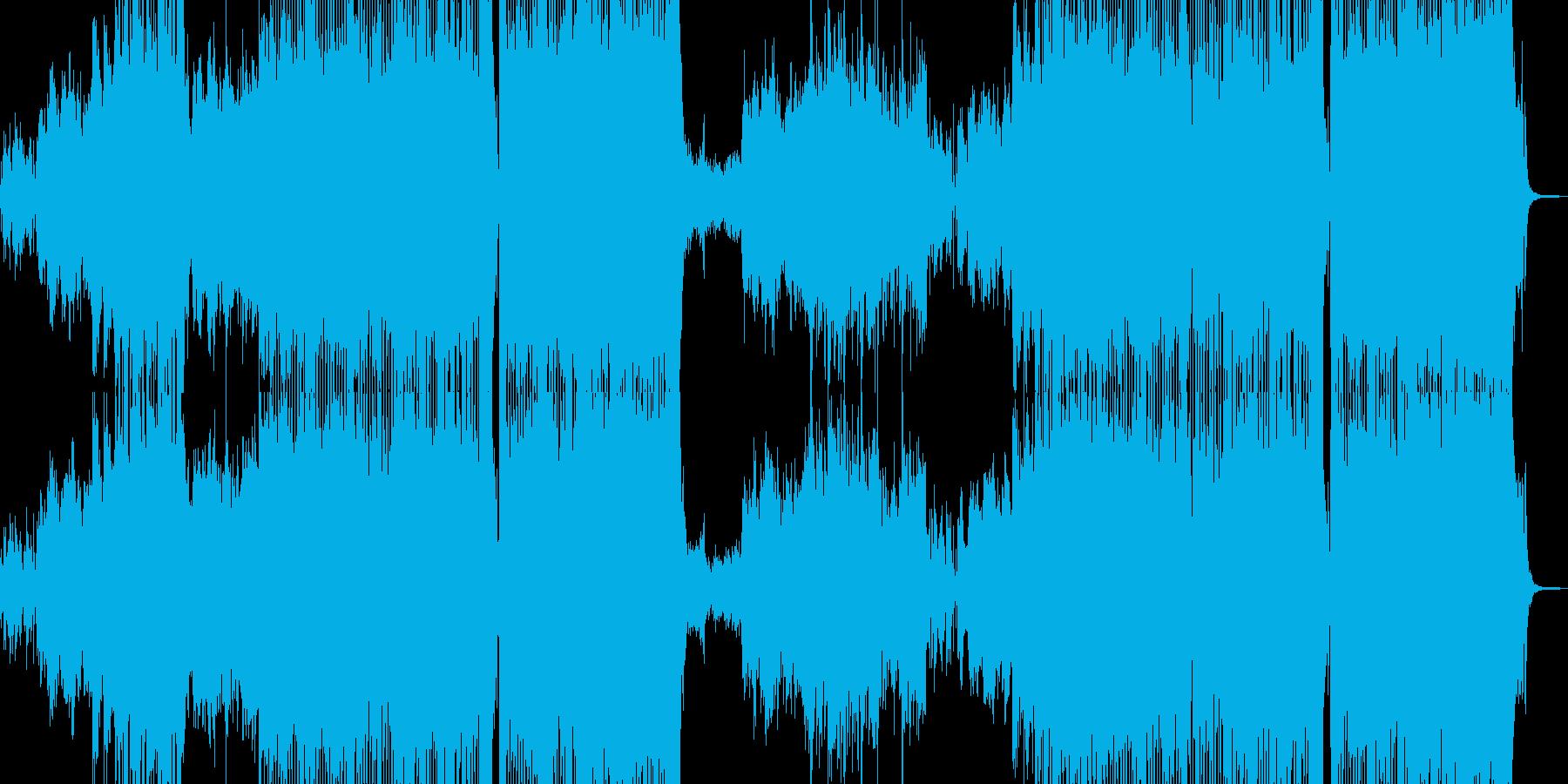 肉球感じる小動物的なテクノポップ 長尺+の再生済みの波形