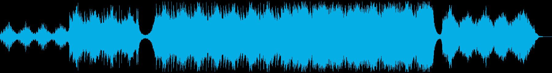 トレーラー・企業・合唱無しの再生済みの波形