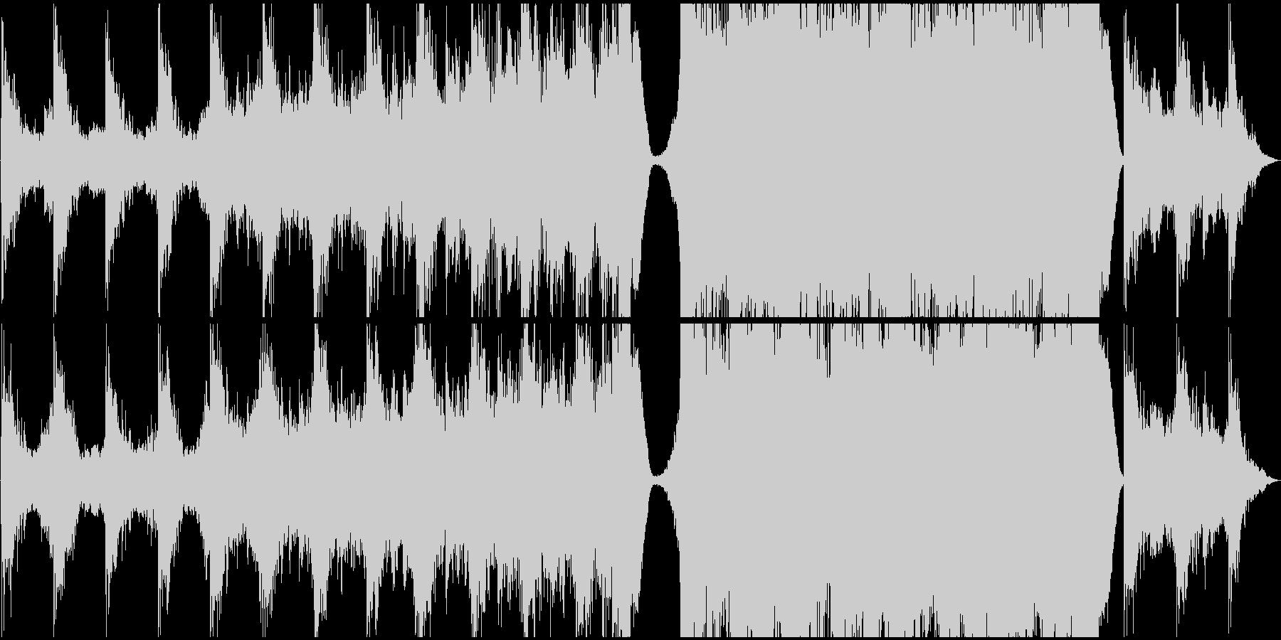 現代的 交響曲 ドラマチック 緊張...の未再生の波形