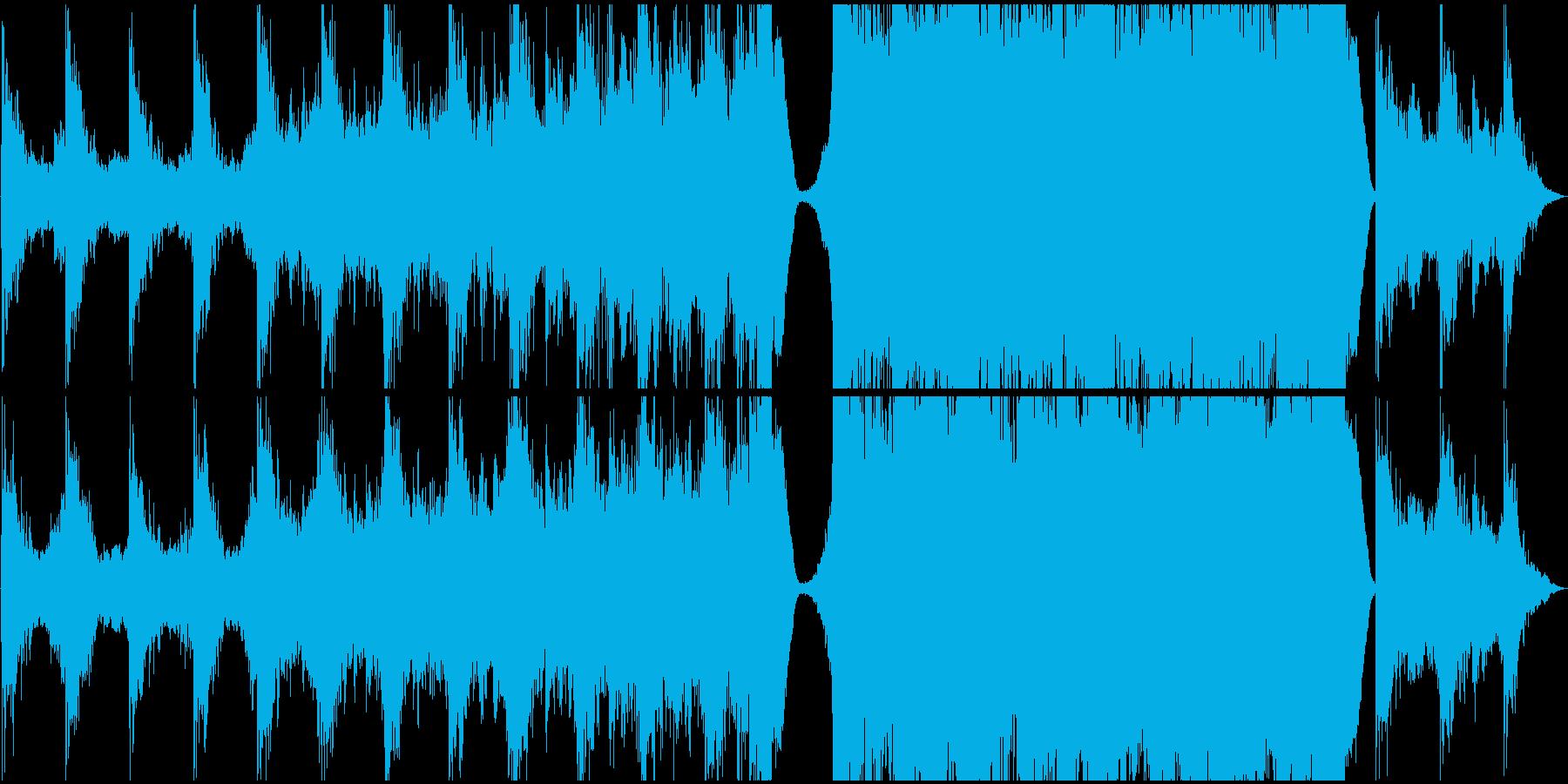 現代的 交響曲 ドラマチック 緊張...の再生済みの波形