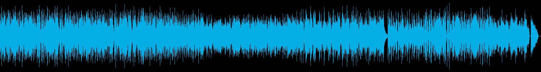 生演奏・ヒーリングミュージックの再生済みの波形