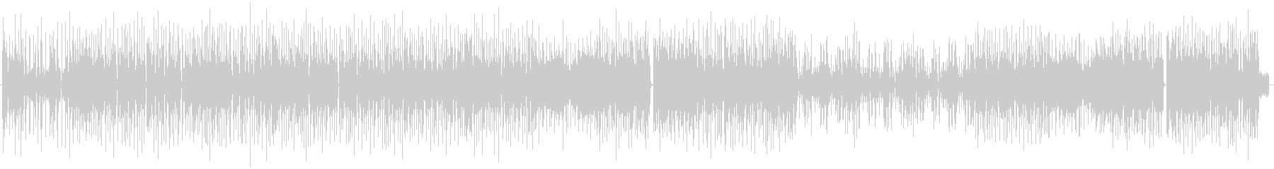 BlueBoy 楽器のみバージョンの未再生の波形