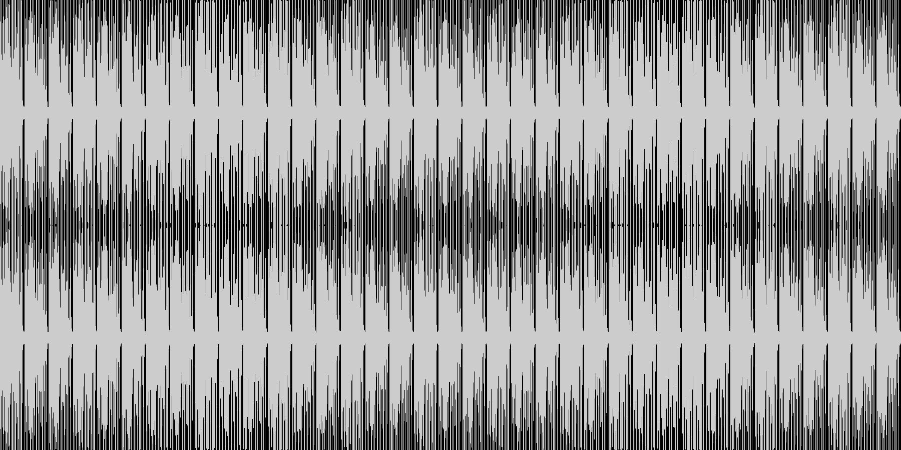 奇妙なビート3(いかがわしいremix)の未再生の波形