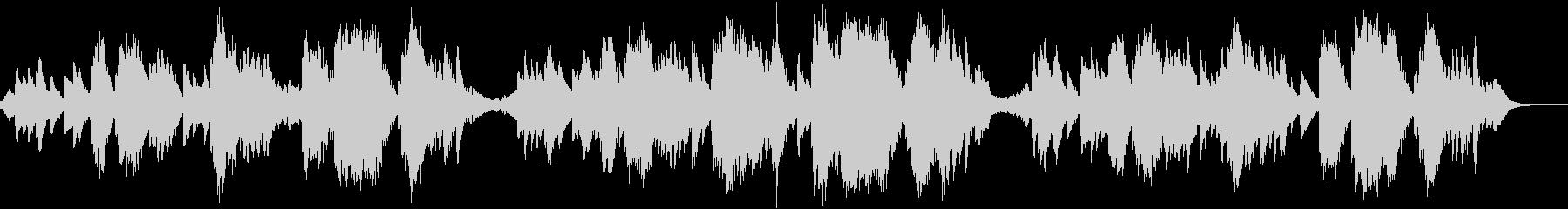 エレクトロニック 説明的 静か 楽...の未再生の波形