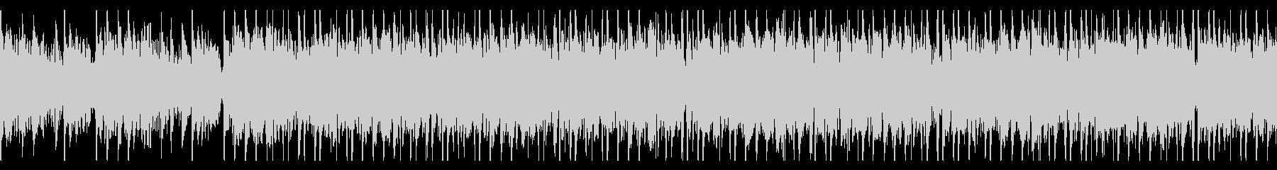 和風/和太鼓/重厚/ループの未再生の波形