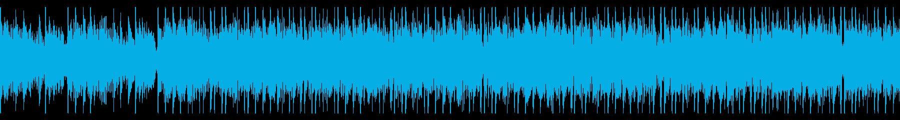 和風/和太鼓/重厚/ループの再生済みの波形