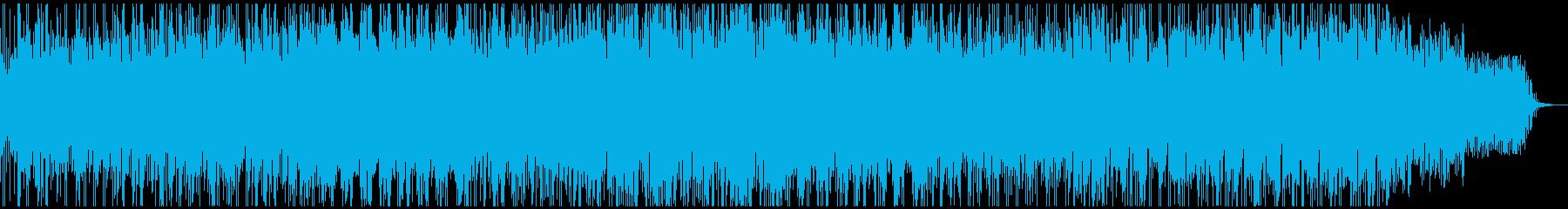 明るくハッピーな可愛い雰囲気シンセポップの再生済みの波形