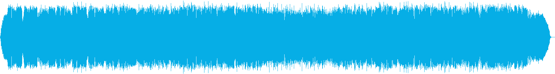 暖かな森のヒーリング音楽の再生済みの波形