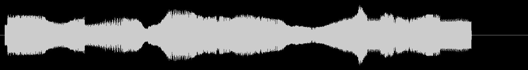 古いラジオのチューニング【洋画風】の未再生の波形