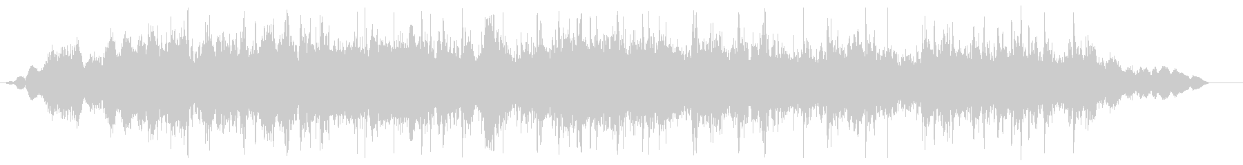 ジャー(流し台の音02)の未再生の波形
