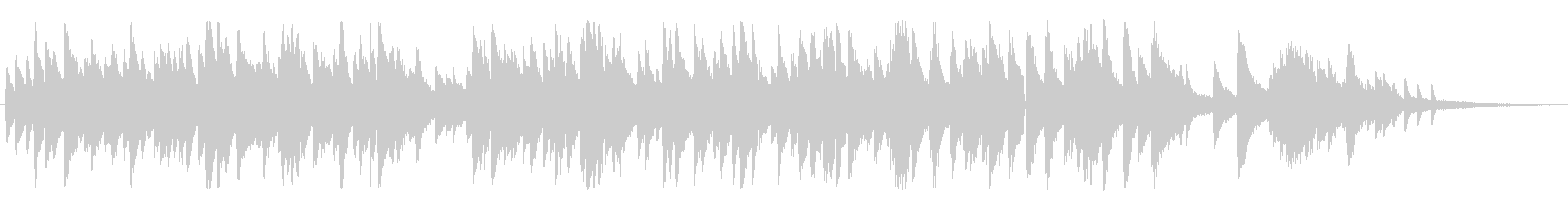 ムーディーなジャズ風ラウンジピアノソロの未再生の波形