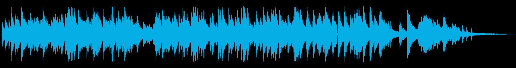 ムーディーなジャズ風ラウンジピアノソロの再生済みの波形