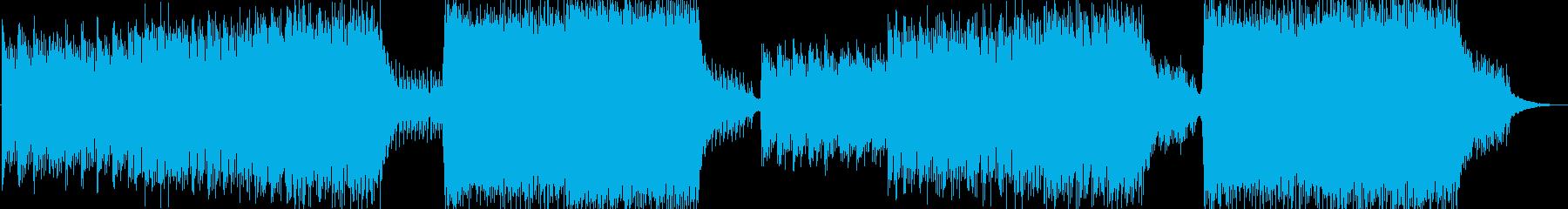 ドラム抜きの再生済みの波形