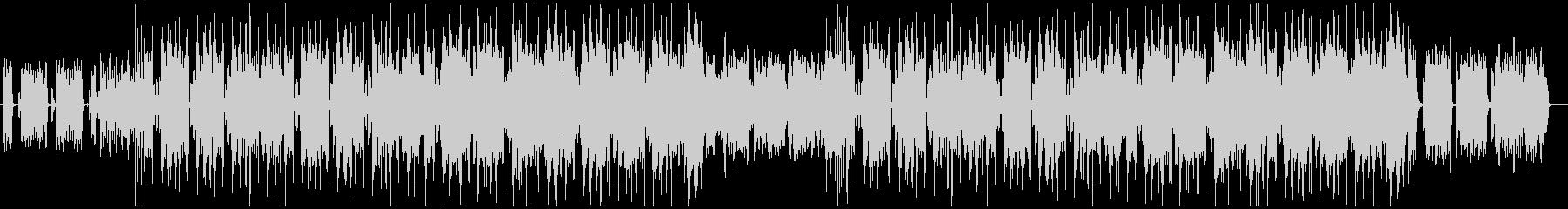 シンセが煌びやかなフューチャーR&Bの未再生の波形