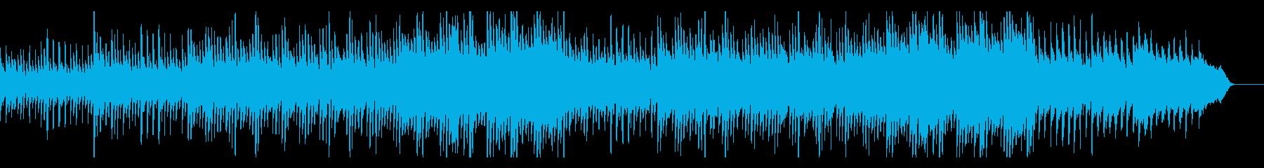 優しいクラシカルなコーポレート・オケ入りの再生済みの波形
