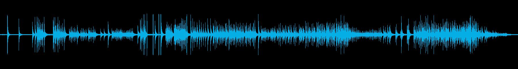 パーカッション、トークドラム; D...の再生済みの波形