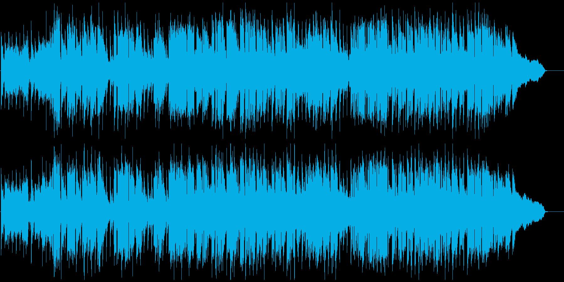 遠足やピクニック系の楽しいウキウキBGMの再生済みの波形
