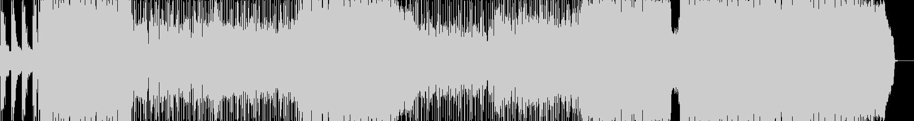 Guitarメインのシンセが際立つBGMの未再生の波形