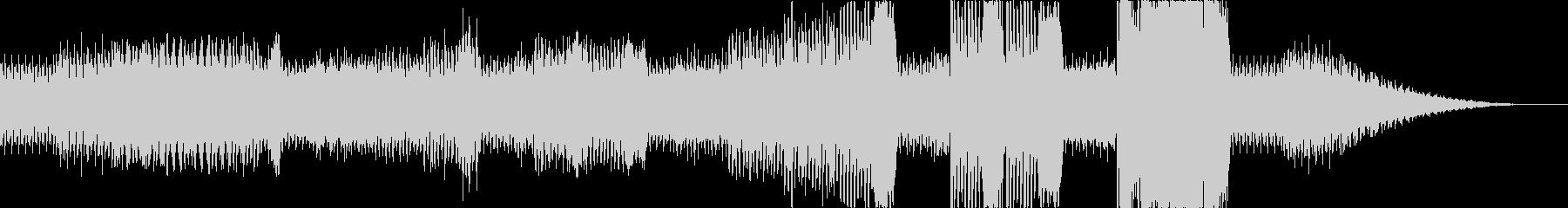 ワクワクしてくるBGM2の未再生の波形
