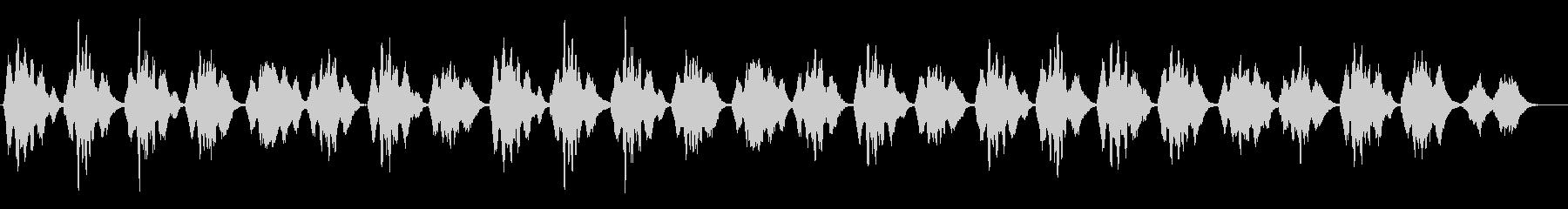 挙式で頻繁に使用される讃美歌312の未再生の波形
