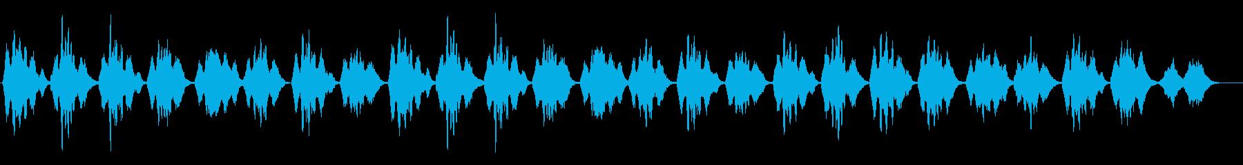 挙式で頻繁に使用される讃美歌312の再生済みの波形