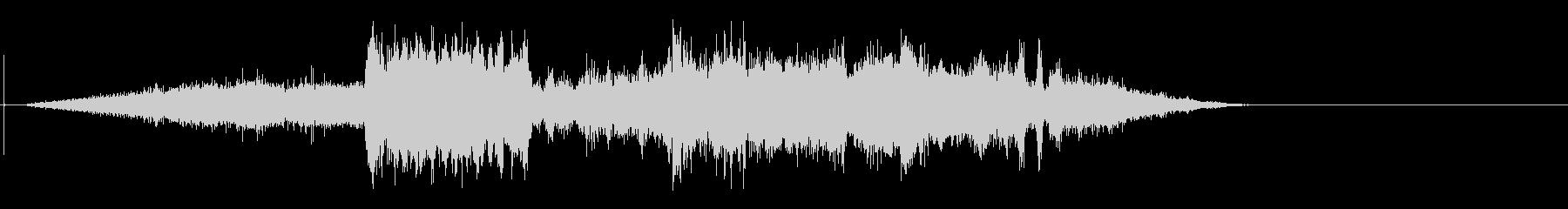 クラシックローラーコースターの未再生の波形