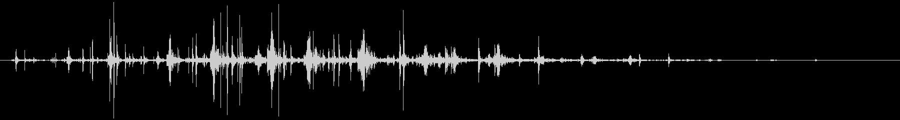 ネバネバ、ヌメヌメとした不気味な音C#4の未再生の波形