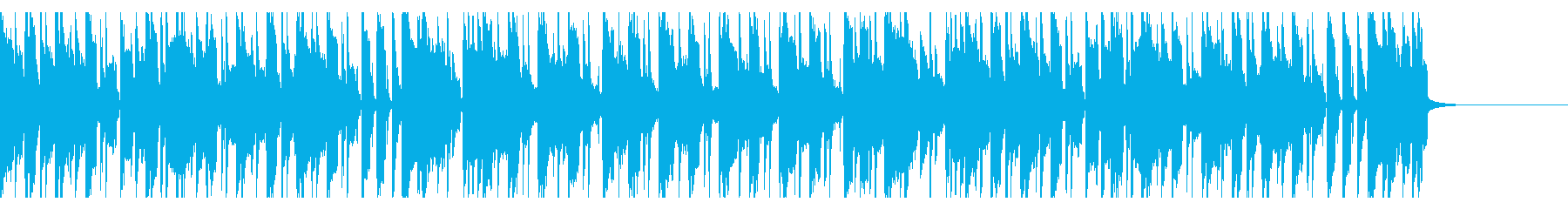 日常のほのぼのしたシーンに合うユルい曲調の再生済みの波形