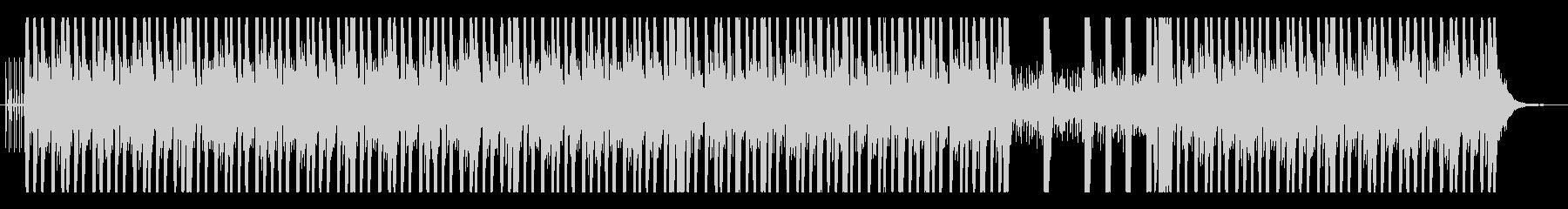 オリエンタルでダークなビートの未再生の波形