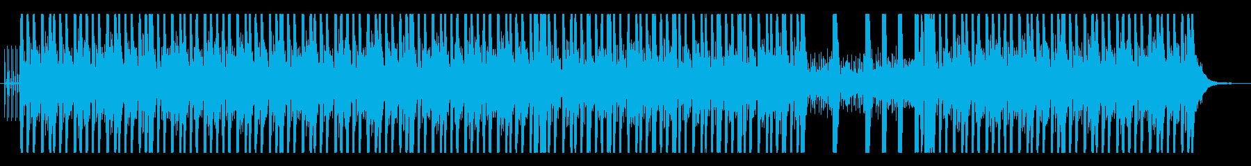 オリエンタルでダークなビートの再生済みの波形