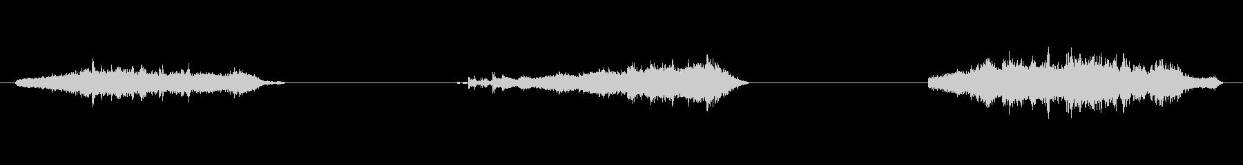ナイロンプル、3バージョン; DI...の未再生の波形
