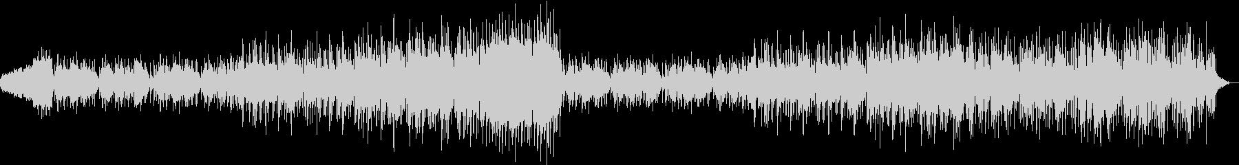 ピアノとストリングスのポップなバラードの未再生の波形
