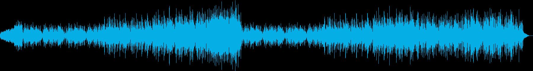 ピアノとストリングスのポップなバラードの再生済みの波形